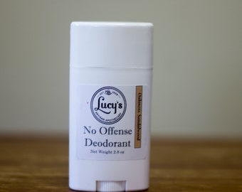 Deodorant - Oakmoss Sandalwood - No Offense Deodorant - Awesome for Guys and Ladies