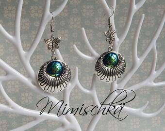 earrings mermaid scale