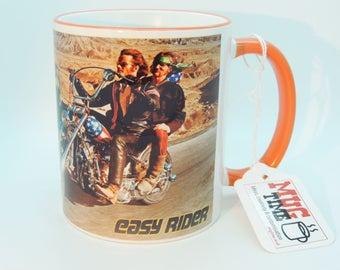 Easy Rider Mug Cup - Motorcycle Motorbike - Movie Peter Fonda - Harley Davidson