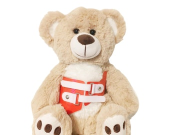 Red Providence Scoliosis Brace Higgy Bear