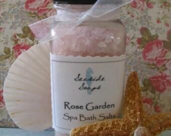 Rose Garden Moisturizing Bath Salts