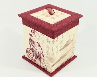 Red tea box