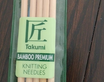Bamboo Knitting Needles and Accessories