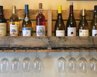 HALF PRICE SALE! Pallet Wine Rack - Large