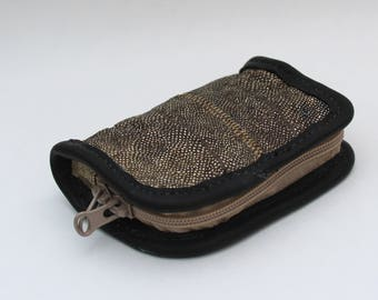 Burbot fish skin wallet
