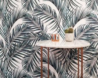 Palm Leaves Self Adhesive Wallpaper