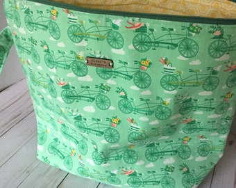 Bicycle Built for Two Sweater Bag