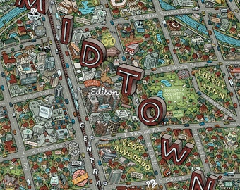 Phoenix Midtown Map