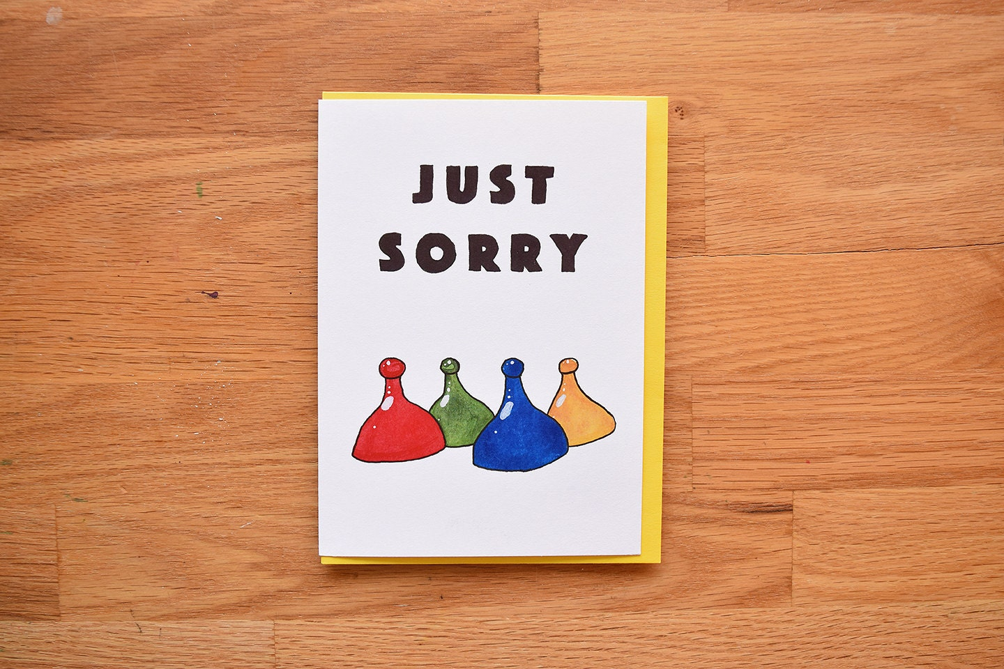 Funny sorry card sorry card for best friend funny apology zoom kristyandbryce Gallery