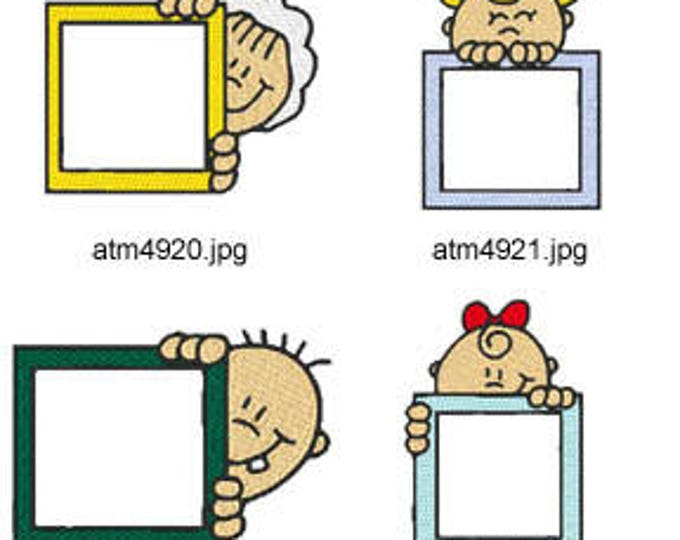 Baby-Block-Peekers ( 7 Machine Embroidery Designs from ATW ) XYZ17E