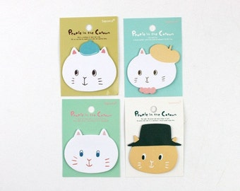 Cute Kitty Cat Sticky Notes