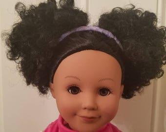 18 inch doll headband 2 pack