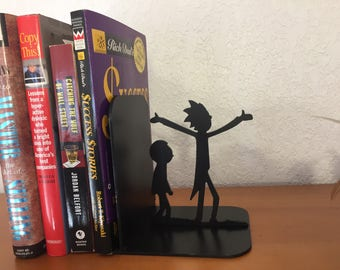 Rick and Morty Book end
