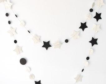Book and Stars Garland