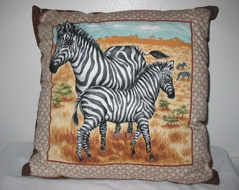 Zebra Pillow    #4013