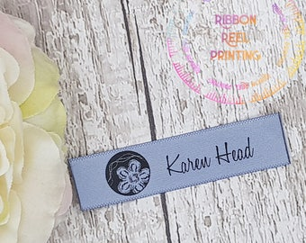 Care Labels / Bespoke Sew In Labels  (15mm x 6cm) CE, EN71/3 Approved