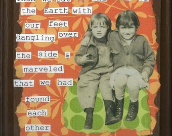 Finding Each Other Greeting Card