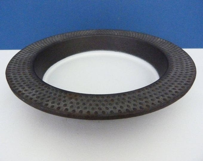 Laurids Lonborg cast iron and enamel bowl