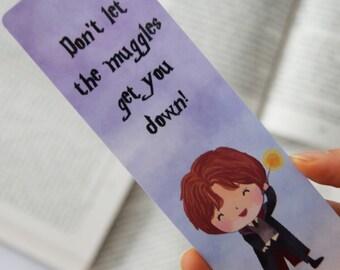 Ron Weasley paper bookmark | Harry Potter