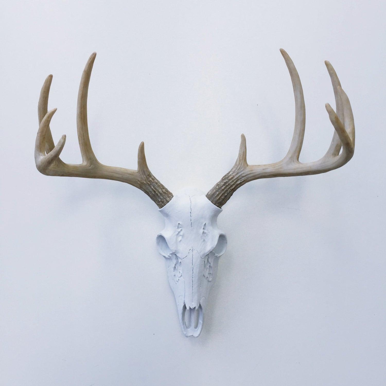 Any Color Realistic Deer Skull Wall Mount Fake Deer Antlers