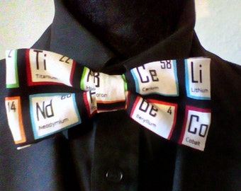Men's Periodic Table Bowtie