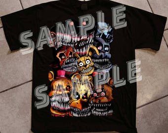 FNAF 4 Tee - Inspired by Five Nights At Freddys