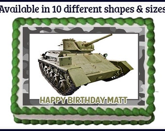 Army cake toppers Etsy