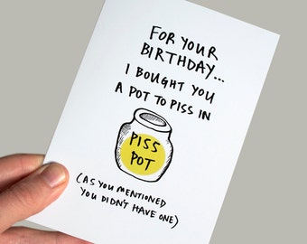 Birthday card funny boyfriend birthday card best friend funny birthday card funny greeting card sarcastic birthday card boyfriend card birthday bookmarktalkfo Choice Image