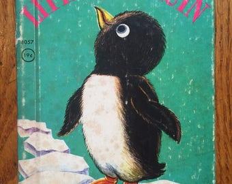 vintage 1960 children's book, Little Penguin