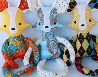 SALE Finnegan Fox PDF Doll Pattern