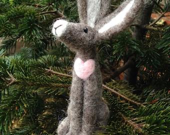 Heartfelt Hare Needle Felting Kit