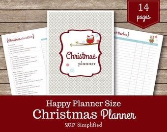 Christmas Planner / Happy Planner / Christmas Printable / Happy Planner Classic Insert / Christmas Organizer / Holiday Planner