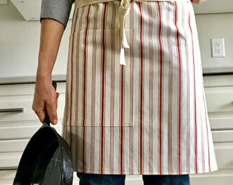 French farmhouse half apron