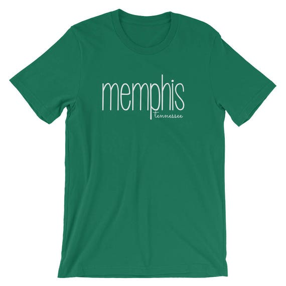 Memphis Tennessee Unisex Tee Shirt State City Short-Sleeve Unisex T-Shirt