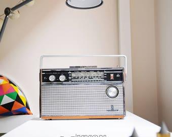 Bluetooth speaker Bluetooth radio gift for men transistor radio gift vintage gift for men portable iPhone speaker kitchen decor retro ykon