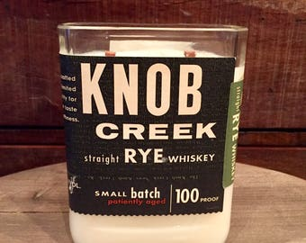 Knob Creek Rye Whiskey Candle (750ml)