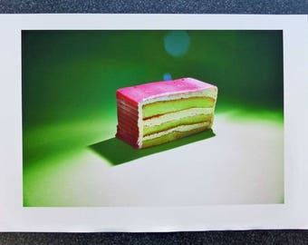 Sweet Dreams Number 5 - Pink Layered Sponge Cake