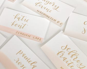 Modern calligraphy handlettering by emelynletters on etsy