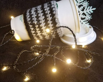 Stripped Coffee Cup Cozy