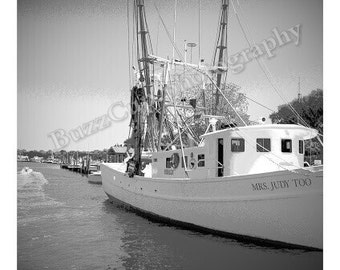 Photography, Charleston Photography, Mount Pleasant, Shem Creek Shrimp Boat