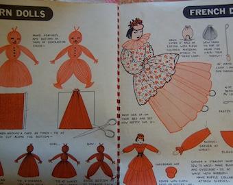 fun vintage craft book
