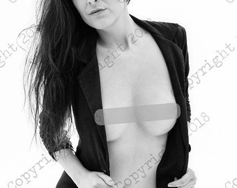 Sensual art nude woman photography color and black and white