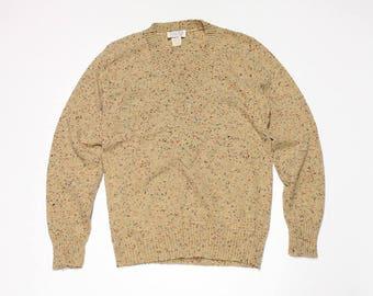 60s Women's Speckled Lightweight Sweater