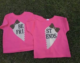 Best friends shirt set | kid shirt set | best friend | BFF