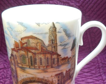 MUGG of ST LEONARD, French faience from the 1980s