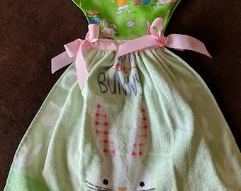 Light bunny oven dish towel dress