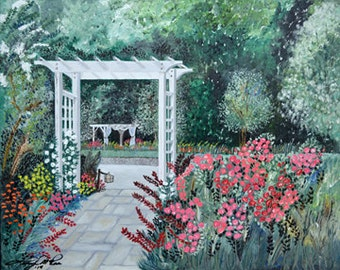 """Original Oil Painting - """"Dewberry's Welcome"""" (16"""" x 20"""" Original Oil Painting)"""