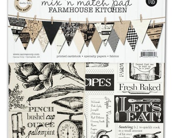 Canvas Corp Farmhouse Kitchen 12x12 Pad  Acid and lignin free.     (50% off, was 13.00)