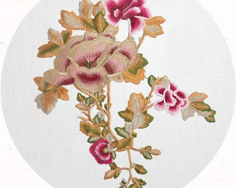 Sew On Flower Appliques