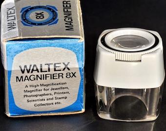 Loupe 8X Magnifier by Waltex MiNTY !